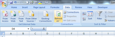 Refresh All Pivot Tables